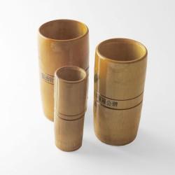 Ventosas de bambú