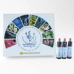 Set de flores de Bach marca Healing Herb